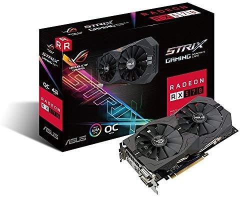 """כרטיס מסך Asus ROG Strix Radeon Rx 570Gaming OC Edition רק ב505 ש""""ח עד הבית!(בזאפ 1449 ש""""ח!)"""