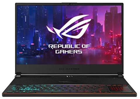 "ASUS ROG Zephyrus S – מחשב גיימינג מדהים עם מסך 144Hz, מעבד Core i7, כרטיס RTX2080 רק ב8571 ש""ח עד הבית!"