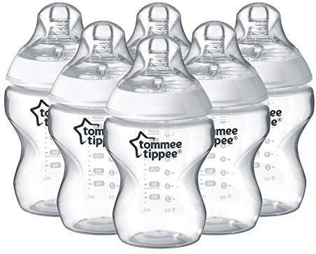 """מבצעי Tommee Tippee באמזון! סט 6 בקבוקים ב101 ש""""ח! 12 בקבוקים רק ב152 ש""""ח!"""