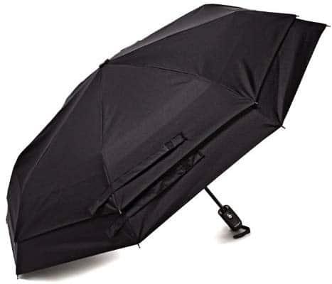 """מטריה אוטומטית – Samsonite Luggage Windguard – רק ב18$ / 62 ש""""ח"""