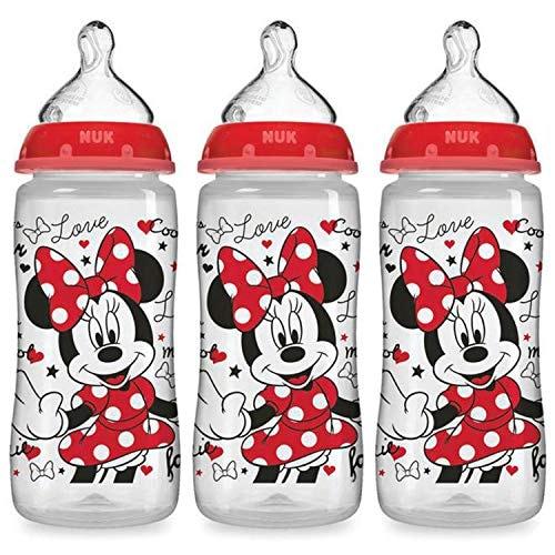 """3 בקבוקי NUK Disney רק ב7$/ 24 ש""""ח!"""
