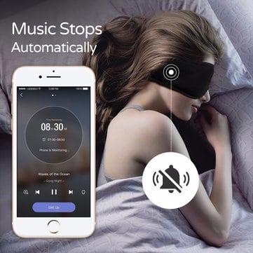 קשה להירדם? xiaomi sleepace – מסיכת שינה חכמה – גם שעון מעורר, גם רעש לבן, מדידת שינה ועוד רק ב$9.99!