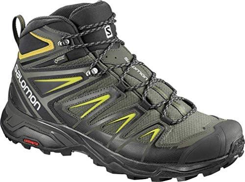 """SALOMON Men's X Ultra 3 Mid GTX – נעלי הרים בצלילת מחיר – רק ב529 ש""""ח! (הכי זול אי פעם! בזאפ 818 – 785 ₪)"""
