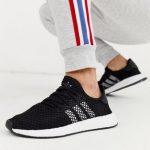 adidas Originals deerupt runner trainers in black