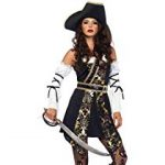 Women's Black Sea Sexy Buccaneer Pirate Costume