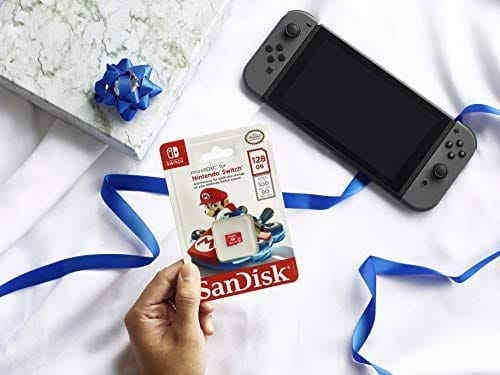 "SanDisk 128GB for Nintendo Switch רק ב87 ש""ח (במקום 149שח)"