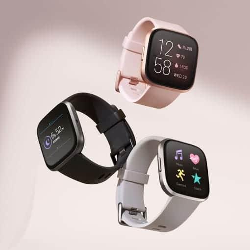צלילת מחיר! Fitbit Versa 2 שעון ספורט חכם מגוון צבעים בהנחה מדהימה! רק ב₪629! במקום ₪989