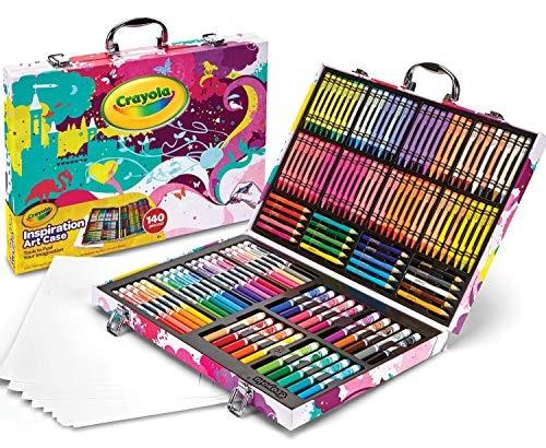 """מזוודת צבעים ענקית של Crayola – עם 140 פריטים – רק ב69 ש""""ח ומשלוח חינם! (הכי זול אי פעם!)"""