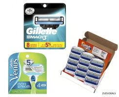 Gillette | מגוון סכיני גילוח בדיל היום באמזון עם משלוח חינם!