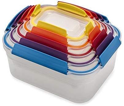 Nest | Joseph Joseph סט 5 קופסאות אחסון למזון ב₪71 בלבד! במקום ₪199