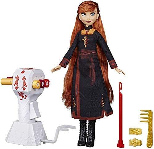 Frozen | לשבור את הקרח 2 בובה ואביזרים: קולעים צמות לאנה ב₪47 בלבד! במקום ₪225!