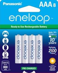 סוללות נטענות – Panasonic eneloop וAmazon Basics!