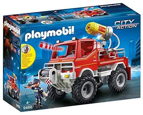 PLAYMOBIL 9466 | משאית כיבוי אש אורות וסאונד פליימוביל ב₪55 בלבד! במקום ₪225!