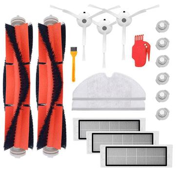 ערכת חלפים מלאה לשואבי שיאומי-רובורוק (דור 1/2 S50/MI robot) עם 18 חלקים! – רק ב$9.99!