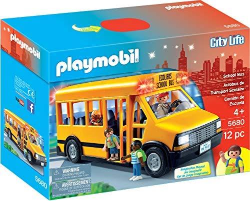 PLAYMOBIL 5680 | פליימוביל אוטובוס בית ספר מדליק אורות! ב₪52 בלבד! במקום ₪114