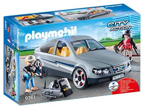 "PLAYMOBIL 9361 | רכב ימ""מ סמוי עם צ'קלקה ב₪62 בלבד! במקום ₪126! ולקט פליימוביל מסדרת ימ""מ עד 75% הנחה!"