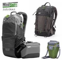 Mindshift | תיקי צילום מקצועיים ב12% הנחה בשימוש בקופון הבלעדי