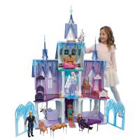 Disney FROZEN | טירת ארנדל לשבור את הקרח 2 בית בובות ענק! עם אורות והפתעות! ב₪645 עד הבית!