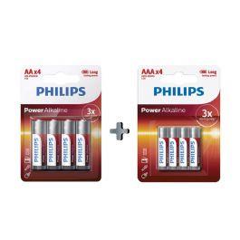בלעדי! סט 80 סוללות Philips AA + AAA איכותיות רק ב₪149 (במקום ₪198) עם שליח עד הבית חינם!