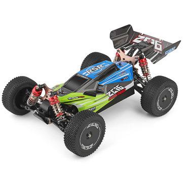 """מכונית על שלט – Wltoys 144001 1/14 2.4G 4WD – עד 60 קמ""""ש! רק $70.3"""