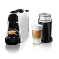 """מכונת קפה NESPRESSO אסנזה מיני בגוון כסוף מט (מהדורה מוגבלת) דגם D30 כולל מקציף חלב ארוצ'ינו 3 עם משלוח מהיר חינם + קפסולות + 50 ש""""ח קרדיט לקניה הבאה!"""