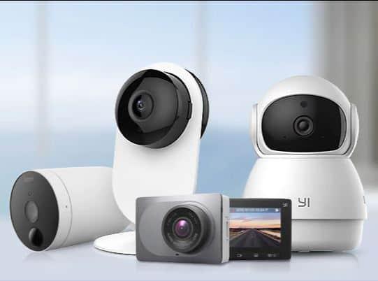 סייל חם בחנות YI! מחירים נדירים על מגוון מצלמות רשת ואבטחה!