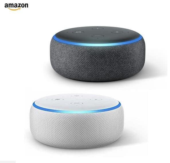 """רמקול חכם Echo Dot 3nd Generation Amazon רק ב218 ש""""ח עם משלוח!"""