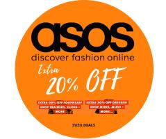 ASOS | אקסטרה 20% הנחה ליום אחד בלבד! על נעליים לגברים ושמלות מהממות לנשים בSALE הקיץ הלוהט!