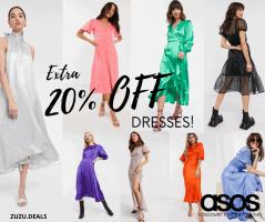 השמלות הכי יפות באקסטרה הנחה בSALE בASOS! רק עד מחר בבוקר!