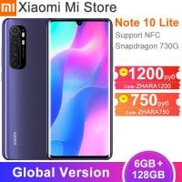 Xiaomi Mi Note 10 Lite גלובלי – רק ב$302.21!