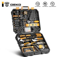 """מזוודת כלי עבודה של DEKO עם 168 חלקים! רק ב152 ש""""ח!"""