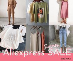 SALE הקיץ בAliexpress – גם במחלקת האופנה! לקט Bestsellers לנשים במחירים נדירים!