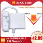 Xiaomi Charger 65W - מטען שיאומי USB-C מקורי ומהיר לסמארטפונים ומחשבים עד 65W!