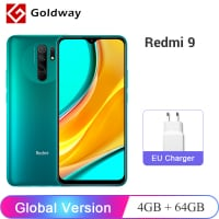 Xiaomi Redmi 9 64GB גלובלי רק ב$124.59!