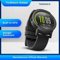 TicWatch E – שעון חכם עם ANDROID WEAR במחיר כסאח! רק ₪217 במקום ₪660!!!
