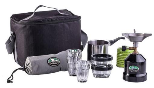 ערכת קפה כולל תיק צידנית מרופד GoNature Tornado OD ב₪105 בלבד!