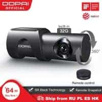 לחטוף! DDPai Mini3 – מצלמת רכב מומלצת! עם עמידות גבוהה לחום, WIFI, רזולוציה גבוהה וזיכרון מובנה! רק ב$55.99!