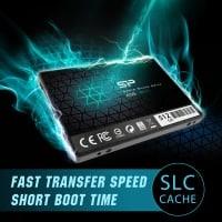 """כונן SSD מהיר – Silicon Power 512GB SSD 3D NAND עם קאש SLC – רק ב200 ש""""ח עד הבית!"""