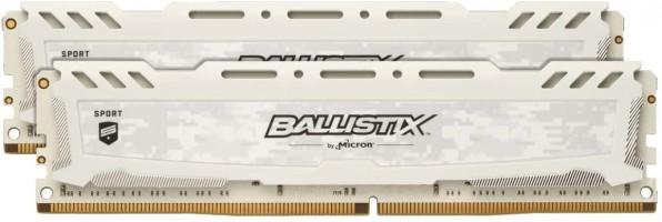 """זכרונות למחשב נייח – (Crucial Ballistix Sport LT 3000 MHz DDR4 32GB (16GBx2 – דגם מהיר במיוחד במחיר כסאח! רק 490 ש""""ח עד הבית!"""