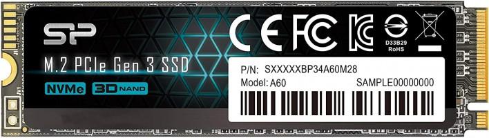 """כונן פנימי מהיר SSD Silicon Power 512GB NVMe M.2 PCIe Gen3x4 רק ב64.25$ / 219 ש""""ח עד הבית!"""