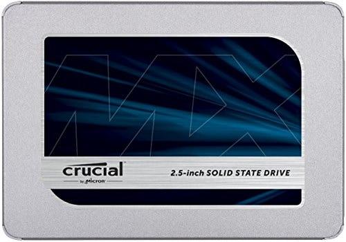 """כונן Crucial MX500 SSD נפח 500GB ב-255 ש""""ח עד הבית!"""