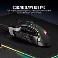 "CORSAIR Glaive PRO – עכבר גיימינג עם 18,000 DPI וRGB – רק ב214 ש""ח"