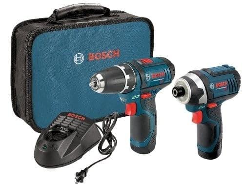"""דיל קודח! סט קומבו  Bosch12-Volt עם 2 מברגות-מקדחות/אימפקט 12V של בוש עם 2 סוללות – רק ב588 ש""""ח!"""