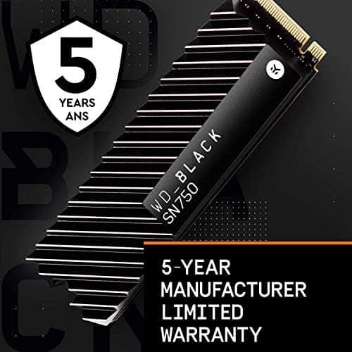 כונן SSD מהיר במיוחד! WD Black SN750 2TB NVMe לגיימרים ובכלל! 2TB מאמזון עד הבית במחיר של 1TB בארץ!