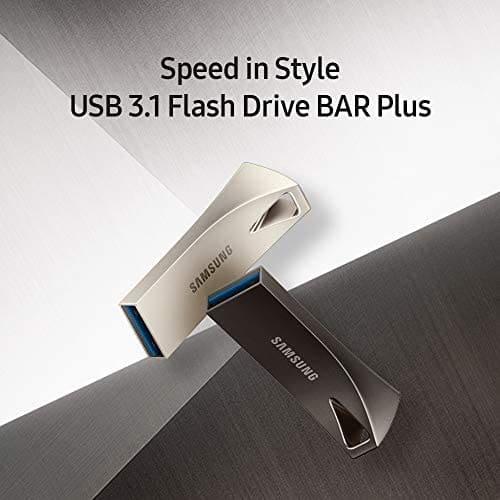 Samsung BAR Plus – מבחר כונני זיכרון דיסקאונקי במחירים נדירים כולל משלוח מהיר מאמזון! שליש מחיר מזאפ!