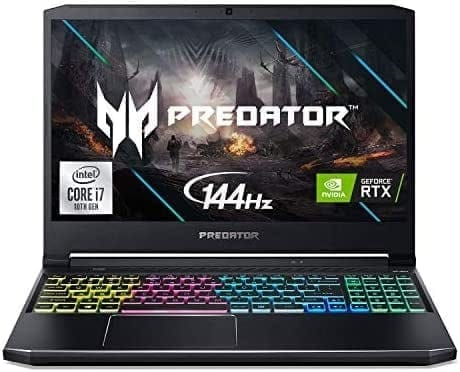 "Acer Predator Helios 300 – מחשב נייד חזק במיוחד! CORE I7, 16GB, RTX2060, 144HZ רק ב5330 ש""ח!"