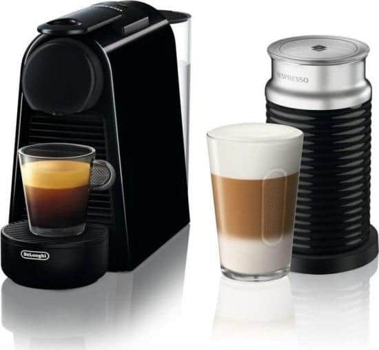 בוקר טוב! קפה? Nespresso Delonghi Essenza Mini עם מקציף חלב Aeroccino 3 רק ב629 ₪!