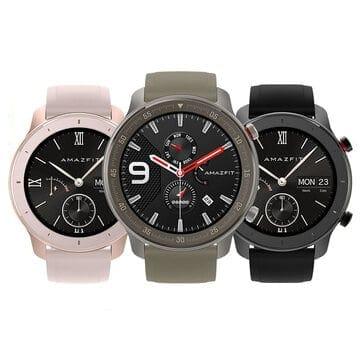"""מחיר נדיר!!! Amazfit GTR 42MM – השעון החכם הכי יפה והכי משתלם – שגם תומך בעברית! רק ב111.63 / 380 ש""""ח כולל משלוח וביטוח מכס!"""