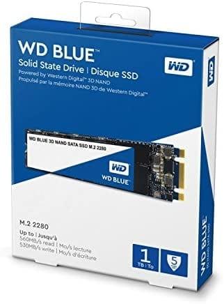 WD Blue 3D NAND 1TB רק ב498 ₪ עד הבית! (בזאפ 981 – 799 ₪)