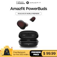 Amazfit PowerBuds – אוזניות מעולות לספורט! (כולל חיישן דופק!) ללא מכס! רק ב$74.99!!!